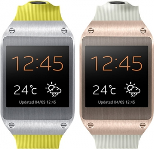 "Samsung Galaxy Gear - умные часы с 1,63"" AMOLED-дисплеем представлены на IFA 2013"